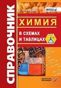 Расулова Г.Л. Химия в схемах и таблицах. Справочник. ФГОС (экз)