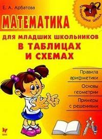 Арбатова. Математика для младших школьников в таблицах и схемах.