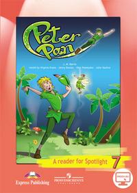 Ваулина Ю.Е. Английский в фокусе. Spotlight. Книга для чтения «Питер Пэн». 7 класс. С online приложением
