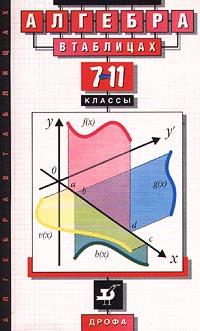 Звавич Л.И. Алгебра в таблицах. 7-11 классы. Справочное пособие (ДРОФА)